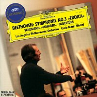 """Los Angeles Philharmonic, Carlo Maria Giulini – Beethoven: Symphony No.3 """"Eroica"""" / Schumann: Manfred Overture"""