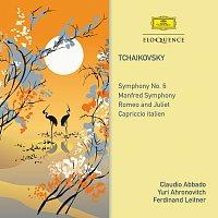Claudio Abbado, Yuri Ahronovitch, Ferdinand Leitner, Wiener Philharmoniker – Tchaikovsky: Symphony No. 6 / Manfred Symphony / Romeo And Juliet / Capriccio Italien
