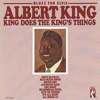 Přední strana obalu CD Blues For Elvis: King Does The King's Things