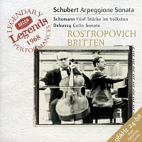 Schubert: Arpeggione Sonata / Schumann: 5 Stucke in Volkston / Debussy: Cello Sonata