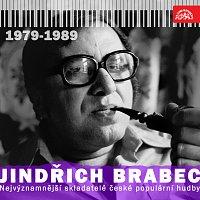 Přední strana obalu CD Nejvýznamnější skladatelé české populární hudby Jindřich Brabec 3. (1979 - 1989)