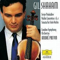 Přední strana obalu CD Prokofiev: Violin Concerto No.1 & 2