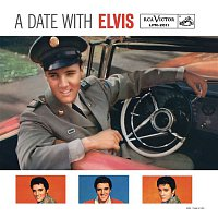 Přední strana obalu CD A Date With Elvis