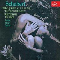 """Přední strana obalu CD Schubert: Smyčcový kvartet č. 14 d moll """"Smrt a dívka"""", Kvartetní věta c moll"""
