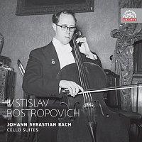 Přední strana obalu CD Bach: Suity pro violoncello (komplet). Russian Masters