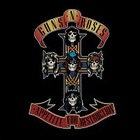 Přední strana obalu CD Appetite For Destruction
