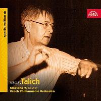 Přední strana obalu CD Talich Special Edition 6. Smetana: Má vlast