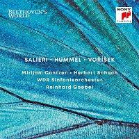 Přední strana obalu CD Beethoven's World: Salieri, Hummel, Vorisek
