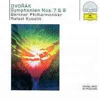 Přední strana obalu CD Dvorak: Symphonies Nos.7 & 8