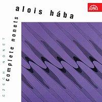 Přední strana obalu CD Hába: Nonety