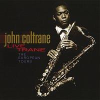 Přední strana obalu CD Live Trane - The European Tours