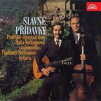 Přední strana obalu CD Pražské strunné duo