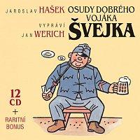 Jan Werich – Hašek: Osudy dobrého vojáka Švejka - Komplet 13CD – CD