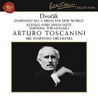 "Arturo Toscanini, Zoltán Kodály, NBC Symphony Orchestra – Dvorak: Symphony No. 9 in E Minor, Op. 95, B. 178 ""From the New World"" - Kodaly: Háry János Suite - Smetana: Die Moldau"