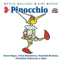 Přední strana obalu CD Collodi, Kafka: Pinocchio
