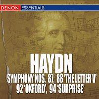 """Různí interpreti – Haydn: Symphony Nos. 87, 88 """"The Letter V"""", 92 """"Oxford Symphony"""" & 94 """"Mit dem Paukenschlag"""""""