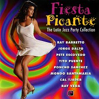 Přední strana obalu CD Fiesta Picante: The Latin Jazz Party Collection