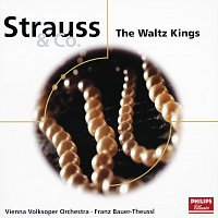Přední strana obalu CD Strauss & Co.: The Waltz Kings