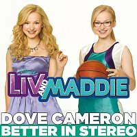 "Přední strana obalu CD Better in Stereo [from ""Liv and Maddie""]"