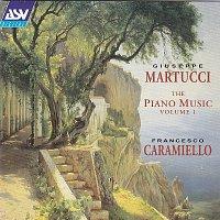 Přední strana obalu CD Martucci: The Piano Music Vol. 1
