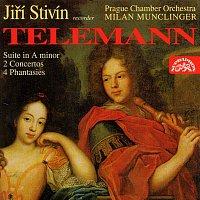 Jiří Stivín, Pražský komorní orchestr, Milan Muclinger – Telemann: Koncerty pro flétnu