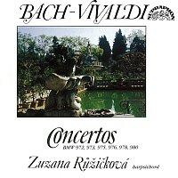 Přední strana obalu CD Bach: Koncerty pro cembalo (podle Antonia Vivaldiho)