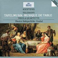 Musica Antiqua Koln, Reinhard Goebel – Telemann: Tafelmusik (Trios und Quartette)