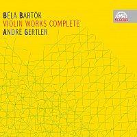 Přední strana obalu CD Bartók: Skladby pro housle a orchestr, housle a klavír - komplet