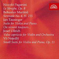 Břetislav Novotný, Ludmila Tržická – Paganini, Martinů, Tausinger, Ulrich, Nejedlý: Skladby pro housle