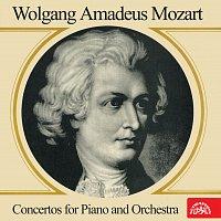 Přední strana obalu CD Mozart: Koncerty pro klavír a orchestr