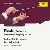 Berliner Philharmoniker, Carl Schuricht – Mozart: Symphony No. 34  In C, KV 338: III. Finale