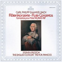 Stephen Preston, The English Concert, Trevor Pinnock – Bach, C.P.E.: Flute Concertos Wq 166 & 167