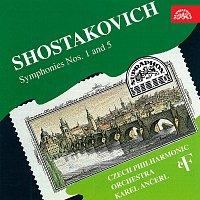 Přední strana obalu CD Symfonie č.1,5