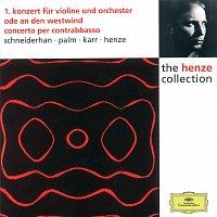 Wolfgang Schneiderhan, Siegfried Palm, Gary Karr, Hans Werner Henze – Henze: Violin Concerto No.1; Ode to West Wind; Double Bass Concerto
