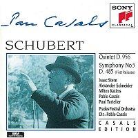 Isaac Stern, Pablo Casals, Milton Katims, Alexander Schneider, Paul Tortelier – Schubert: Quintet in C major, D. 956; Symphony No. 5 in B-flat Major, D. 485