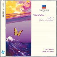 """Wiener Philharmoniker, Lorin Maazel, L'Orchestre de la Suisse Romande – Tchaikovsky: Suite No.3; Suite No.4 - """"Mozartiana"""""""