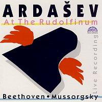 Přední strana obalu CD Ardašev v Rudolfinu / Beethoven / Musorgskij / Martinů