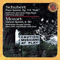 Rudolf Serkin, Franz Schubert, Jaime Laredo, Julius Levine, Philipp Naegele, Leslie Parnas – Schubert: Trout Quintet & Mozart: Clarinet Quintet [Expanded Edition]