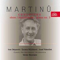 Martinů: Koncert pro hoboj a malý orchestr, Koncert pro cembalo a malý orchestr, ....