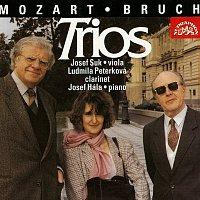 Ludmila Peterková, Josef Suk, Josef Hála – Bruch, Mozart: Tria pro klarinet, violu a klavír