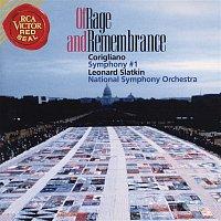 Leonard Slatkin, John Corigliano, National Symphony Orchestra, Lambert Orkis – Corigliano Of Rage and Remembrance; Symphony No. 1