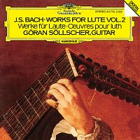 Přední strana obalu CD Bach, J.S.: Works for Lute Vol.2