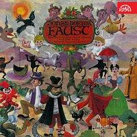 Přední strana obalu CD Johan doktor Faust