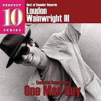 Přední strana obalu CD Essential Recordings: One Man Guy