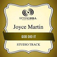 Joyce Martin Sanders – God Did It