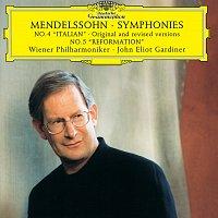 "Wiener Philharmoniker, John Eliot Gardiner – Mendelssohn: Symphonies Nos.4 ""Italian"" original and revised versions & 5 ""Reformation"""