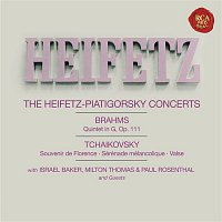 Gregor Piatigorsky, Johannes Brahms, Jascha Heifetz, Israel Baker, Paul Rosenthal, Milton Thomas – Brahms: Quintet No. 2 in G Major, Op. 111 - Tchaikovsky: Souvenir de Florence, Op. 70; Sérénade mélancolique, Op. 26 & Serenade in C Major, Op. 48 - Heifetz Remastered