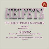 Jascha Heifetz – Brahms: Quintet No. 2 in G Major, Op. 111 - Tchaikovsky: Souvenir de Florence, Op. 70; Sérénade mélancolique, Op. 26 & Serenade in C Major, Op. 48 - Heifetz Remastered