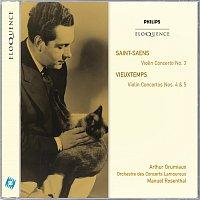 Arthur Grumiaux, Orchestre des Concerts Lamoureux, Manuel Rosenthal – Saint-Saens: Violin Concerto No.3; Vieuxtemps: Violin Concertos Nos.4 & 5