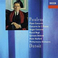 Pascal Rogé, Sylviane Deferne, Peter Hurford, Philharmonia Orchestra – Poulenc: Piano Concerto; Concerto For Two Pianos; Organ Concerto